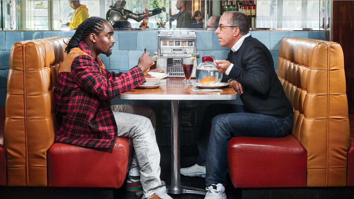 Worlds Collide - Jerry Seinfeld & Wale