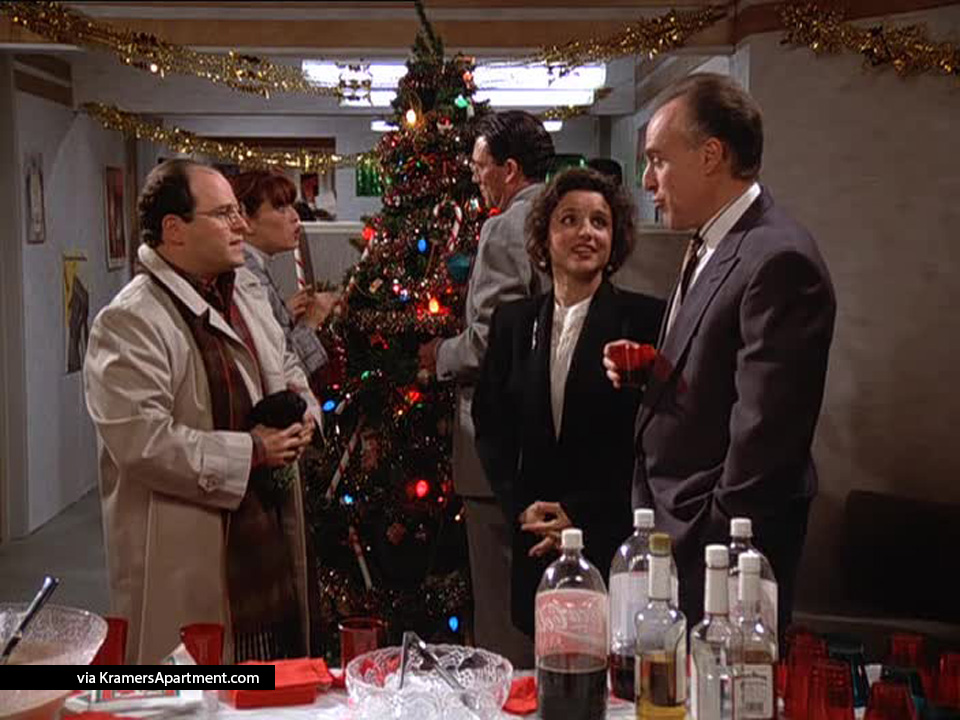 Seinfeld Christmas.All 14 Of George Costanza S Jobs On Seinfeld Kramer S