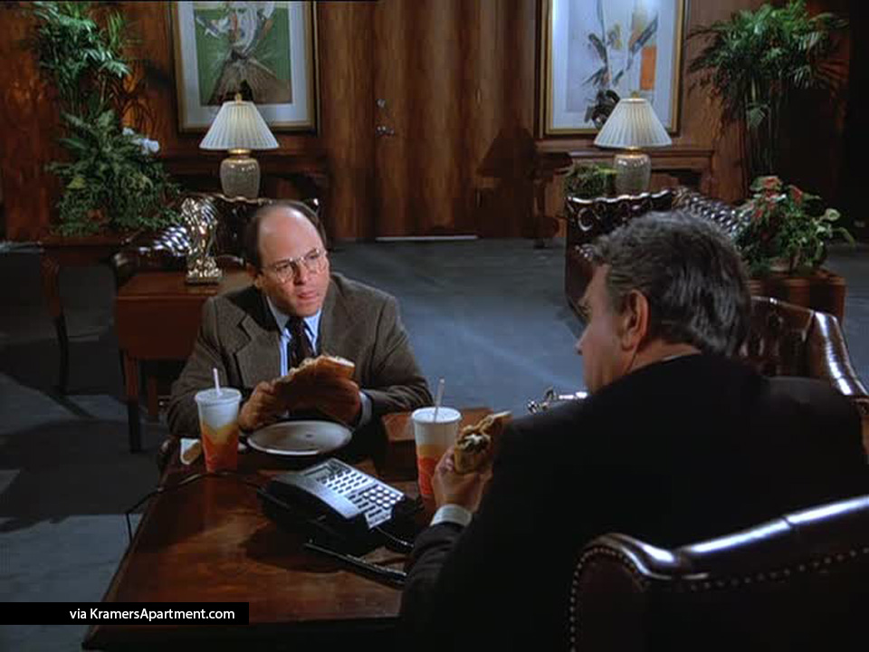 george-lunch-with-steinbrenner-paisanos-the-calzone-seinfeld