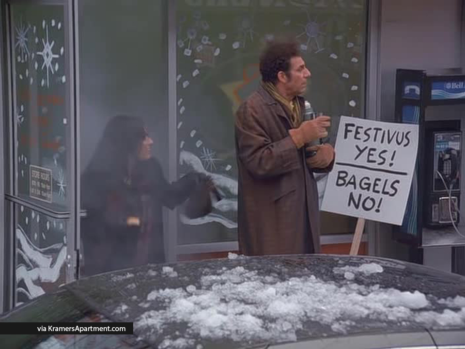 Seinfeld Christmas.A Festivus For The Rest Of Us The Strike Seinfeld Episode