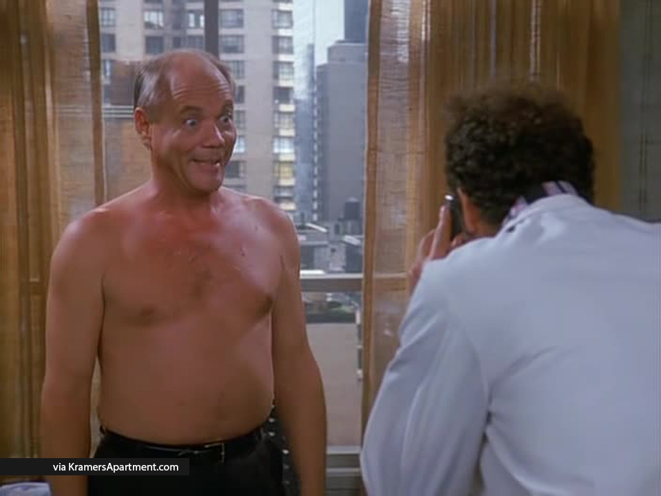 mr kruger shirtless the slicer. Mr  Kruger   Seinfeld Quotes   More