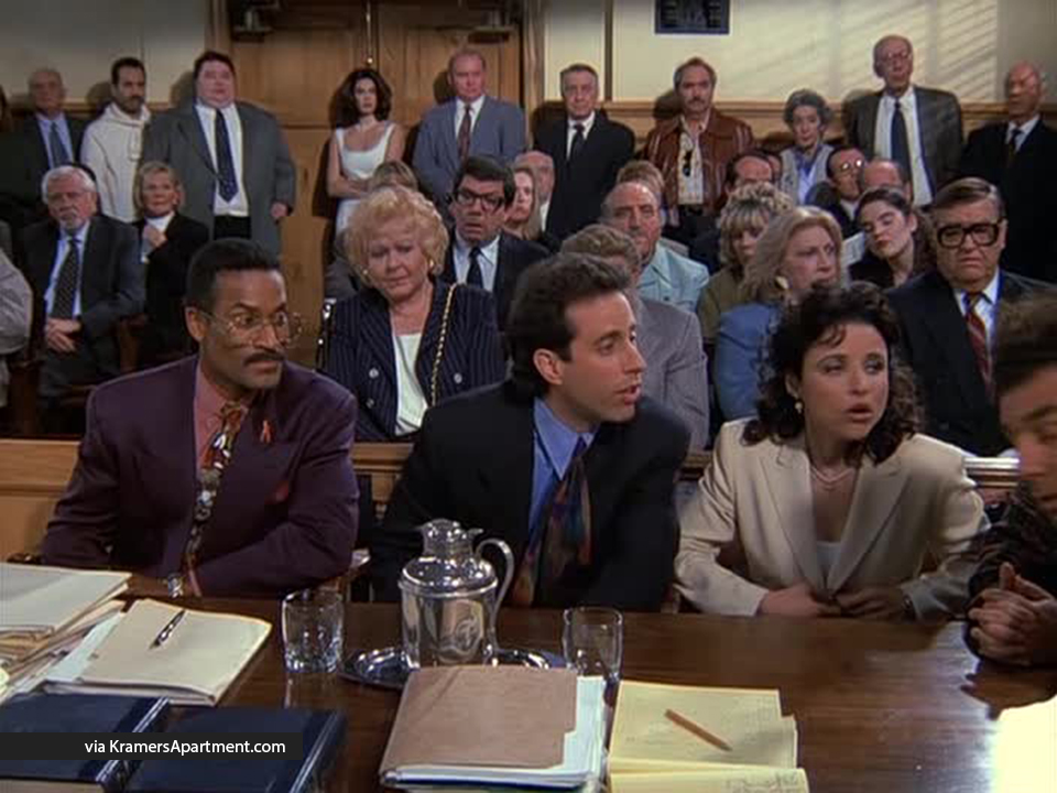 The Entire Seinfeld Cast - A Definitive List