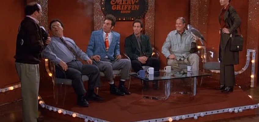 Which character appears the most in Kramer's apartment?